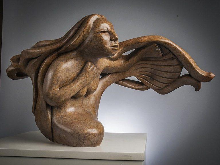 Statue of Inuit Goddess, Sedna