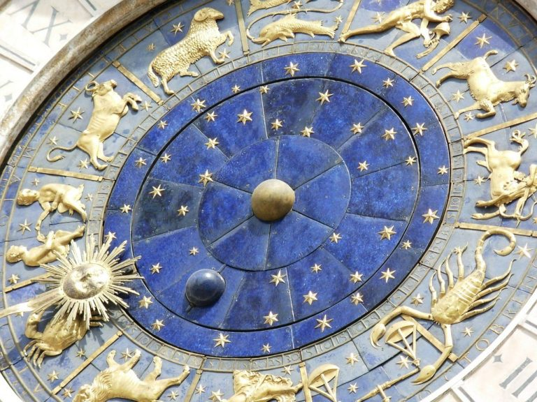 Zodiac clock from Venice