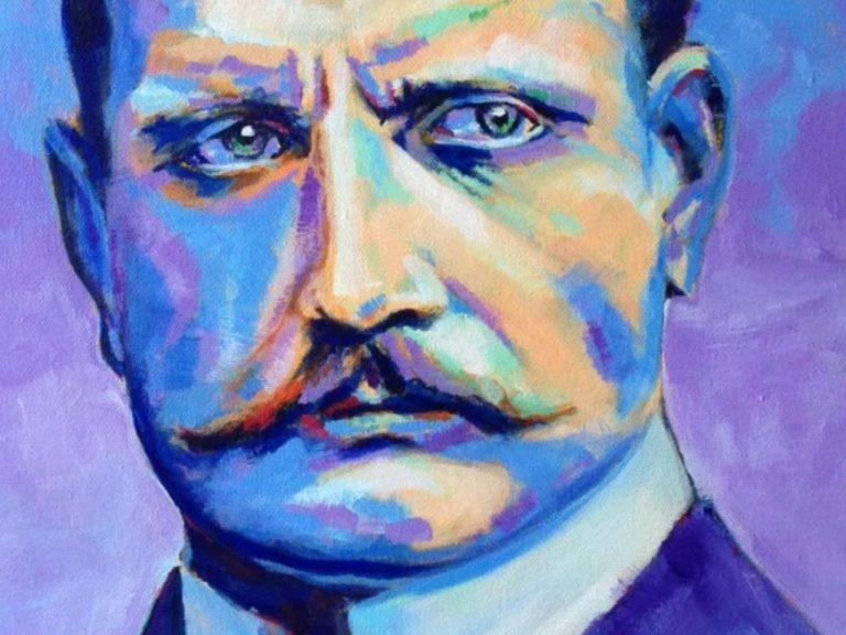 Portrait of Jean Sibelius